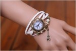 Jam Tangan Braid Leather Watch Eiffel Tower Theme