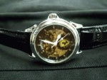 Jam Tangan Ferrari Skeleton Leather BG Automatic