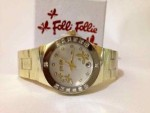 Jam Tangan Follie Follie Gold Date Super