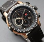 Jam Tangan Swiss Army SA 8912 Black Rose Gold Original