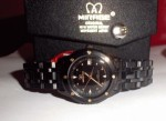 Jam Tangan Mirage Full Black Ladies Original
