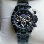 Jam Tangan Rolex Daytona Full Black Automatic