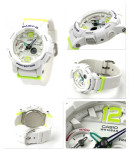 Jam Tangan CASIO BABY-G BGA-180-ORIGINAL WHITE GREEN