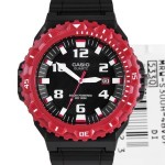 Jam Tangan CASIO MRW-S300H-TOUGH SOLAR BLACK LIST RED