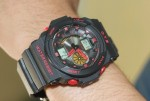 "Jam Tangan OTS SPORT WATCH ""BLACK RED"""