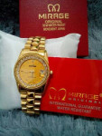 Jam Tangan MIRRAGE 1579 LADIES FULLGOLD