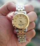 Jam Tangan SEIKO CHAIN + DATE COMBI GOLD FOR LADIES