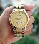 Jam Tangan SEIKO CHAIN + DATE COMBI GOLD FOR MEN