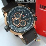 Jam Tangan Expedition 6402 original Black Rose