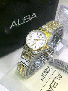 Harga ALBA 856 LADIES ORIGINAL COMBI GOLD