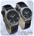 Jam Tangan FOSSIL ANGKA 3D BLACK Couple